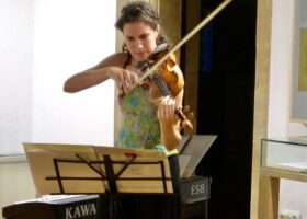 Lidia Sierra en concierto